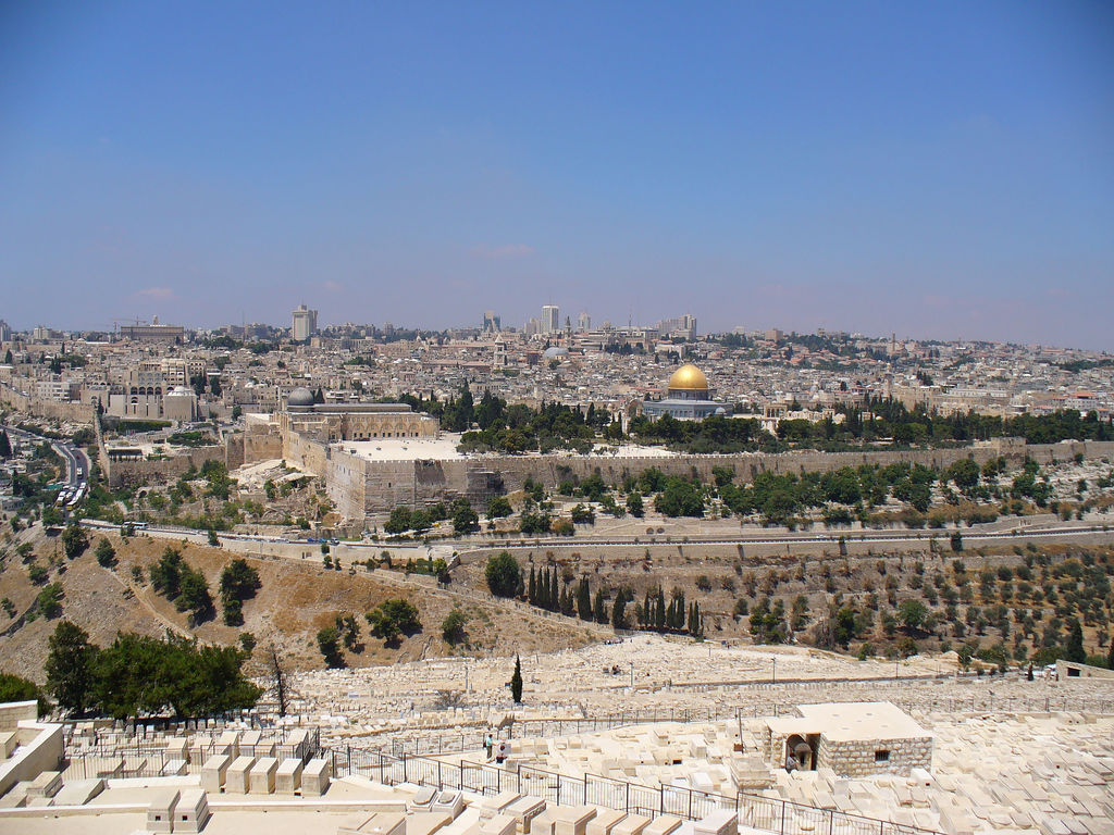 Jerusalem-القدس الشريف: General view, from the Mount of Olives