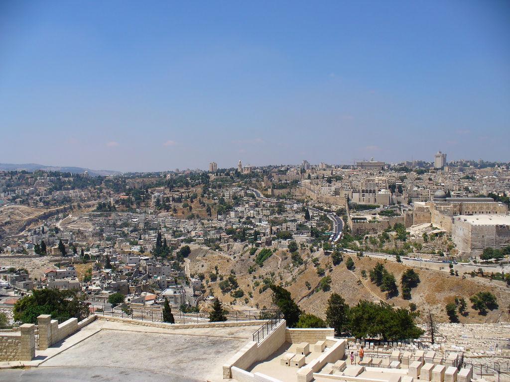 Jerusalem-القدس الشريف: From Mt. of Olives #2