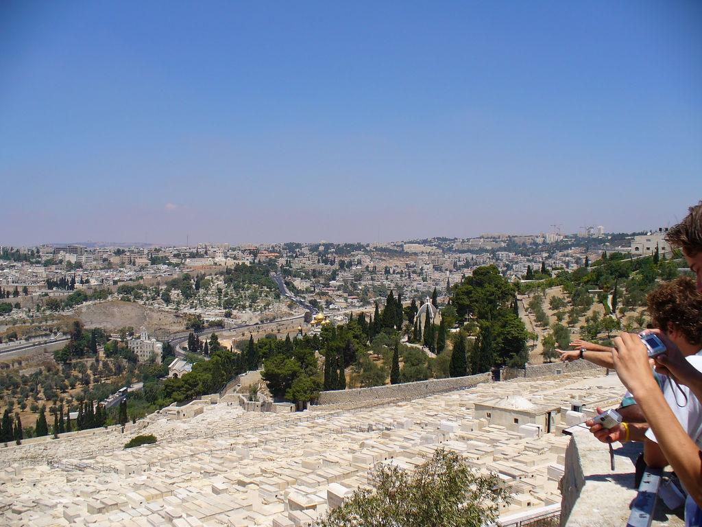 Jerusalem-القدس الشريف: General view for Wadi Al-Joz from Mount of Olive