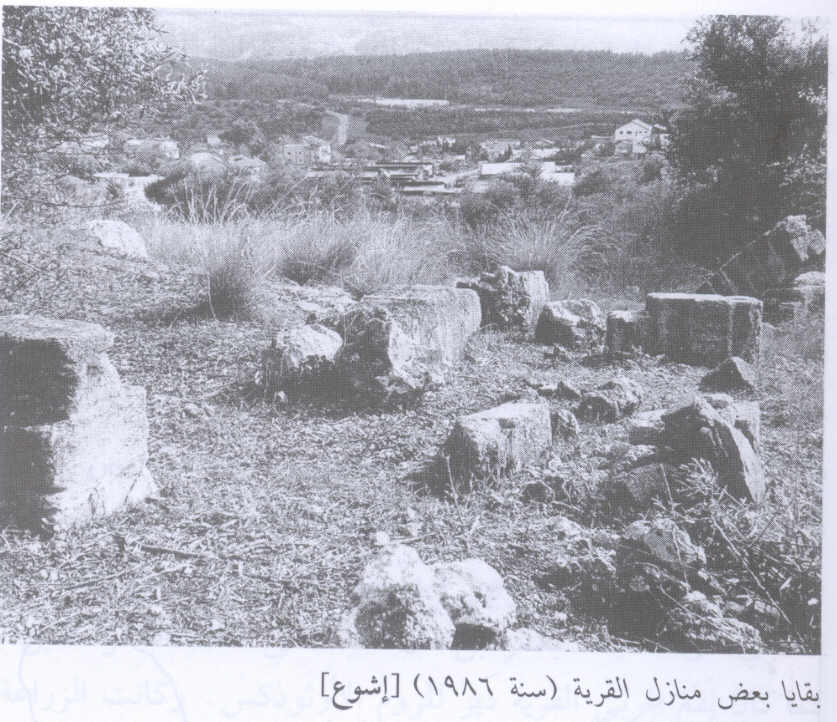 Ishwa' - إشوع : Village House 2 Rubble In 1986