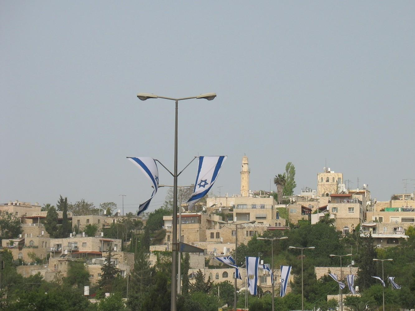 al-Maliha - المالحه : Geneal view for the usupred house, the Omari mosque can be seen in the background