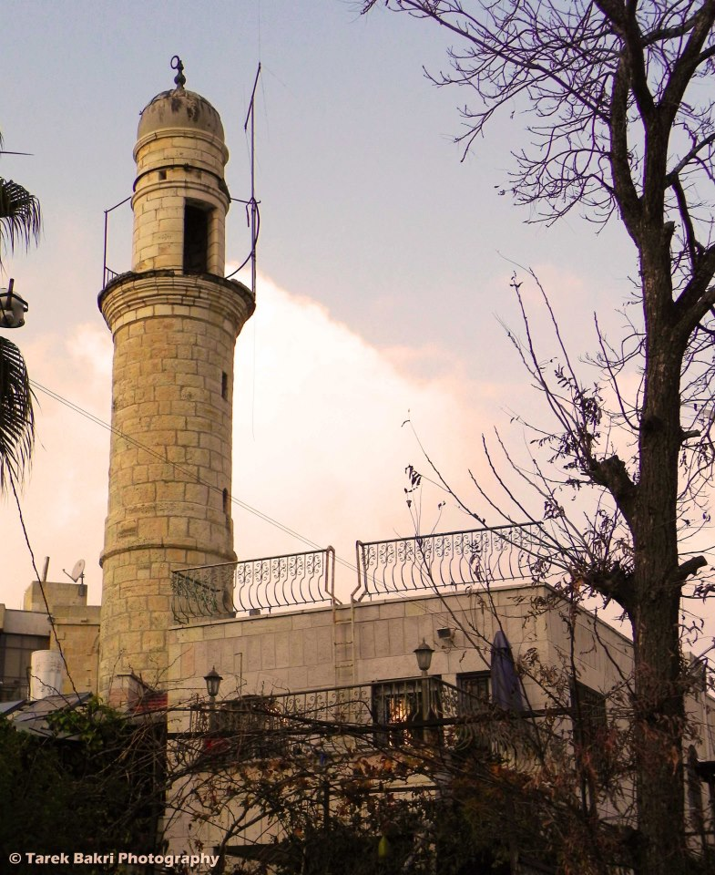 al-Maliha - المالحه : The mosque of the village is now the residence of an israeli family