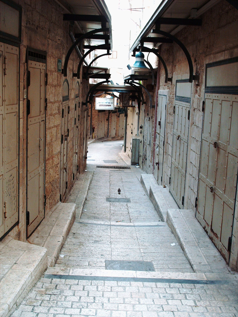 Nazareth - الناصرة : Alleyway in Nazareth's old city #1
