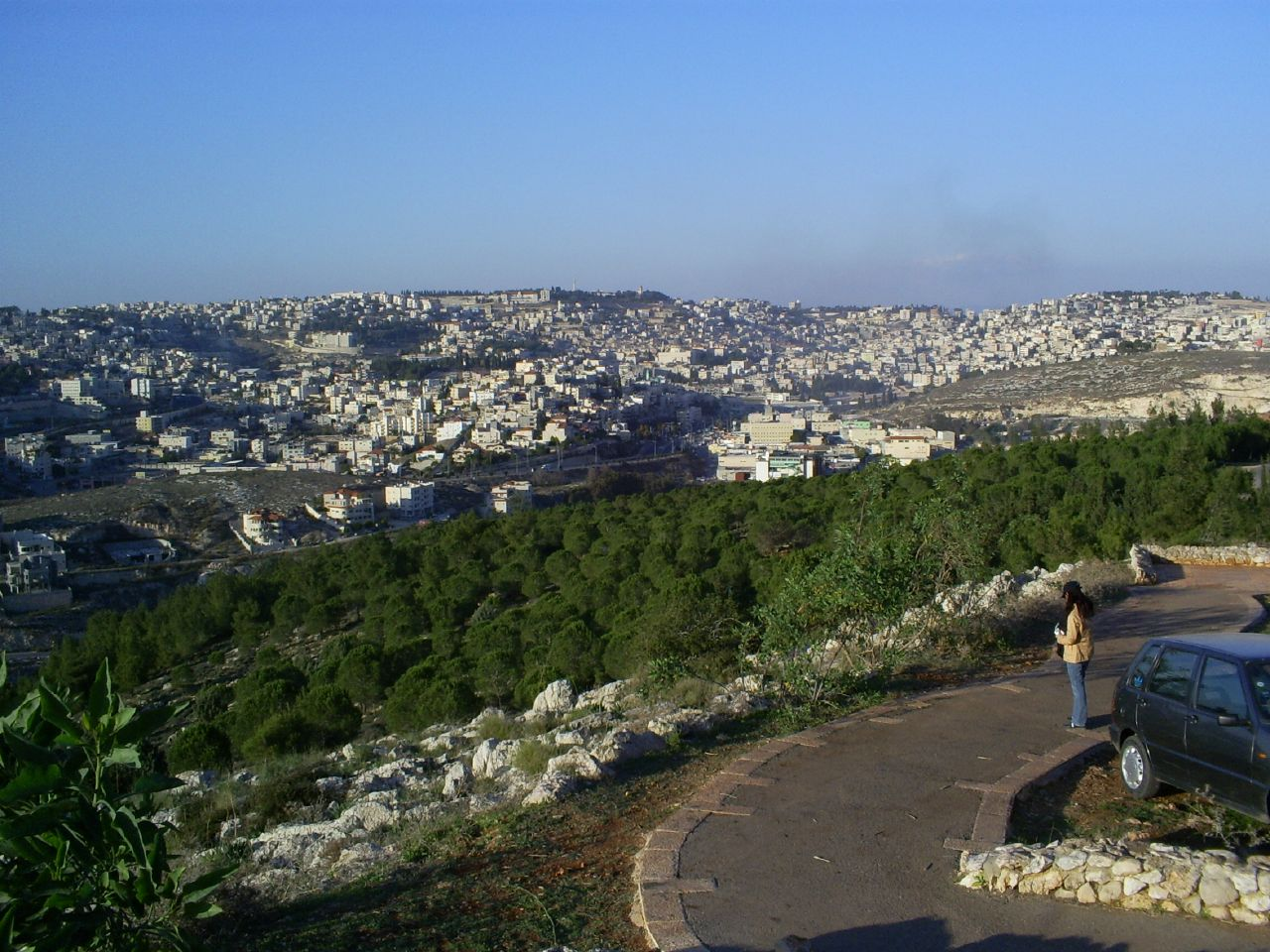 Nazareth - الناصرة : general view for the city