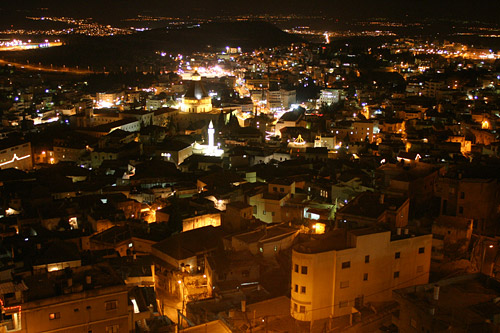 Nazareth - الناصرة : nazareth by night1