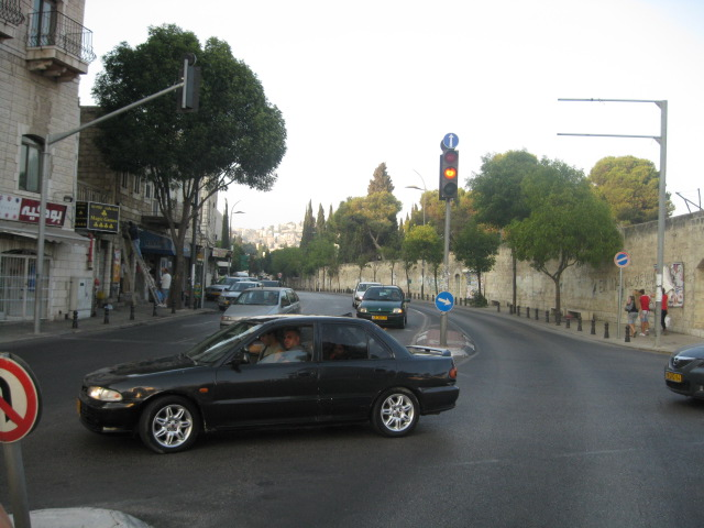 Nazareth - الناصرة : Paul IV Street, Nazareth - July 2010
