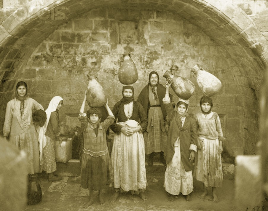 Nazareth - الناصرة : Women of Nazareth 20 (Late 19th, early 20th c.)