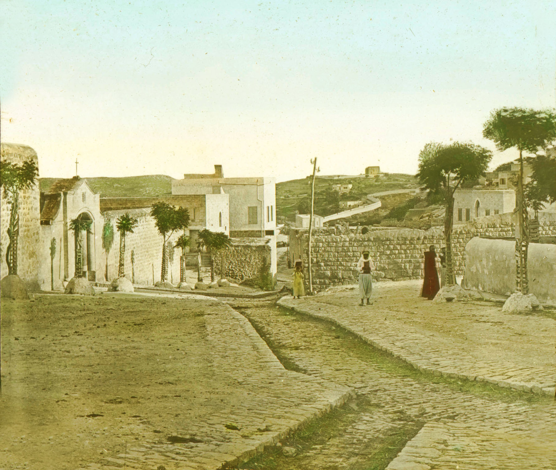 Nazareth - الناصرة : NAZARETH - Late 19th, early 20th c. 30 (Street View, 1880s)