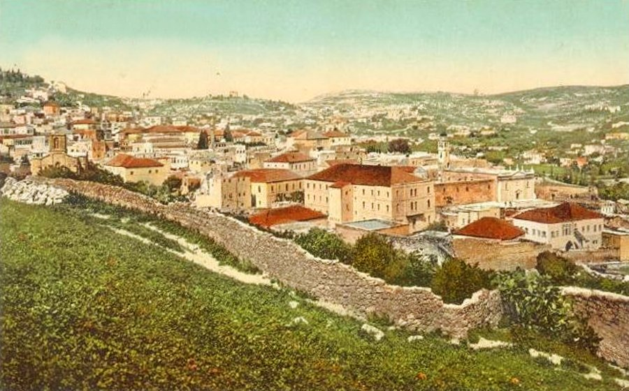 Nazareth - الناصرة : NAZARETH - Late 19th, early 20th c. 39 (1913)