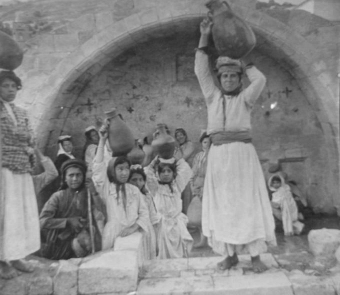 Nazareth - الناصرة : NAZARETH - Women of Nazareth 38 (Late 19th, early 20th c.)