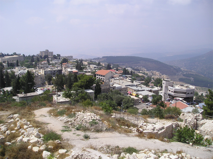 Safad - صفد : General view for Safad