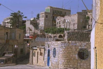 Safad - صفد : General View Of Safad, 1992