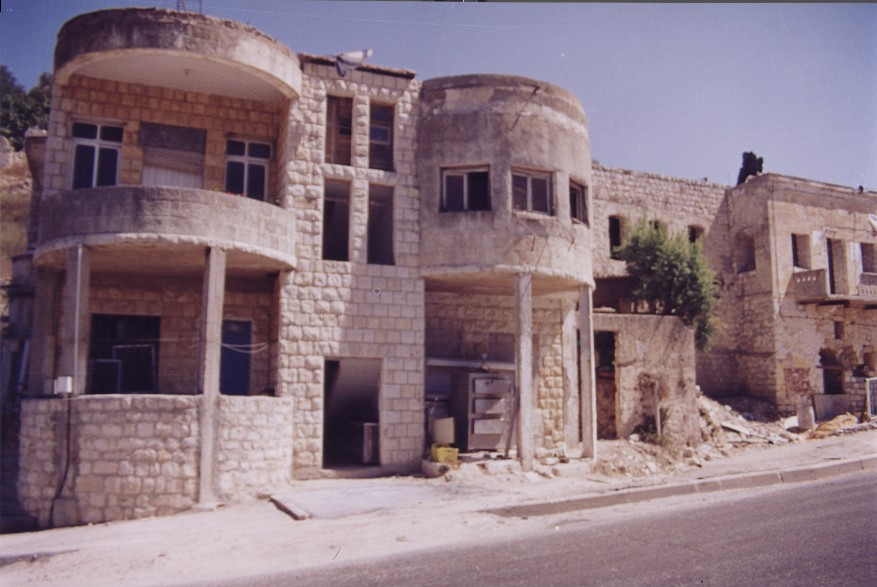 Safad - صفد : General view in the looted city #6, 1999 & 2000