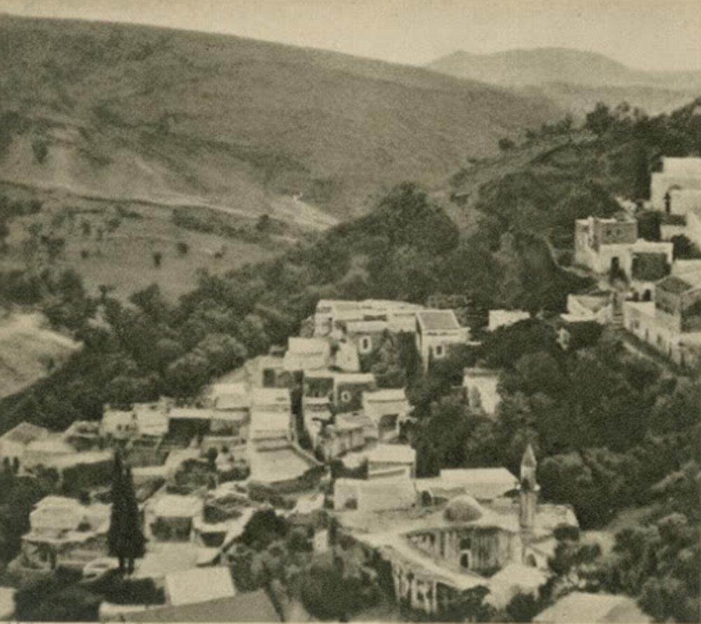 Safad - صفد : SAFAD - Late 19th, early 20th c. 4 - 1920s