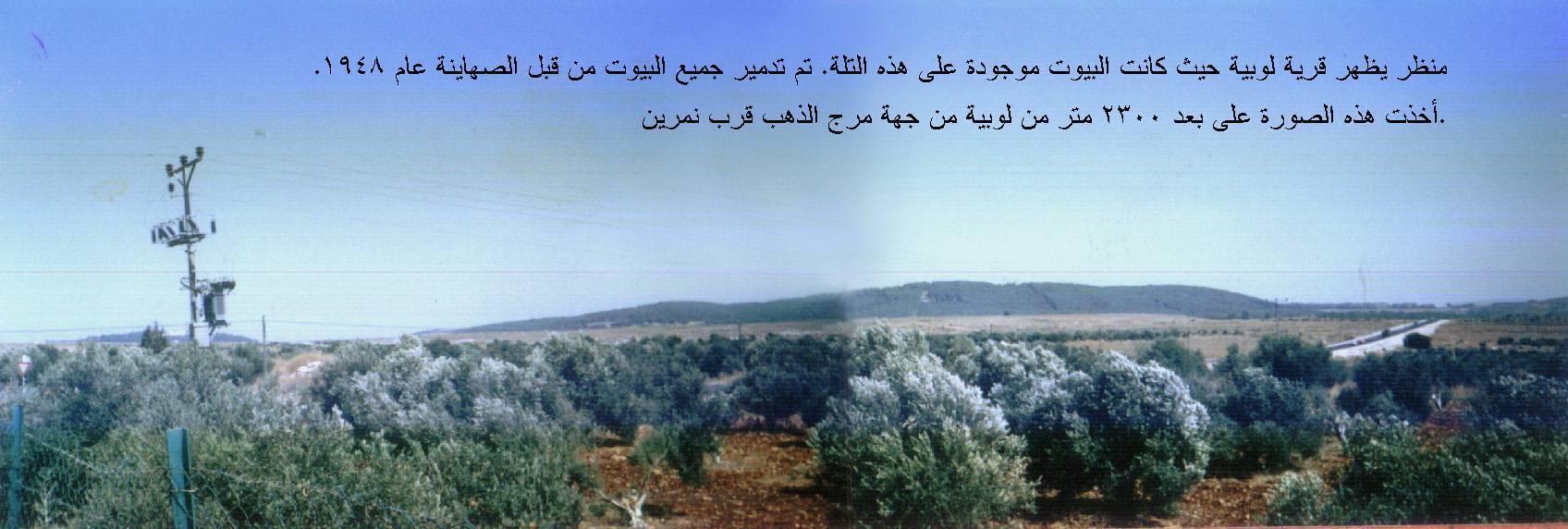 القرى الفلسطينه لوبيا