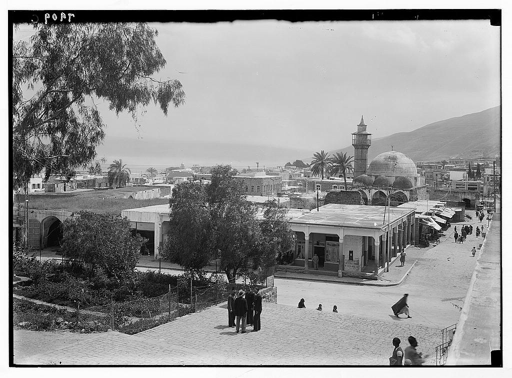 Tiberias - طبريه : General view, Matson Collection.