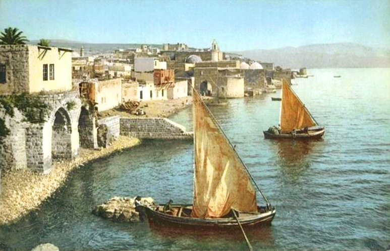 TIBERIAS - Late 19th, early 20th c. 2