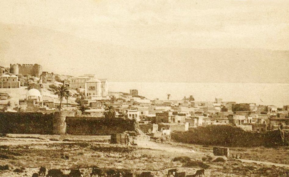 TIBERIAS - Late 19th, early 20th c. 22