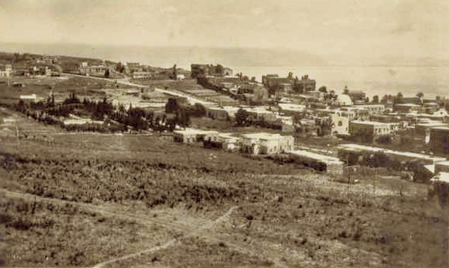 TIBERIAS - Late 19th, early 20th c. 58 (1930s)