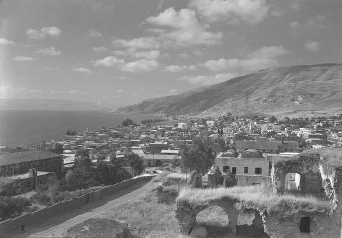 Tiberias - طبريه : TIBERIAS - Late 19th, early 20th c. 92 (1920s-30s)