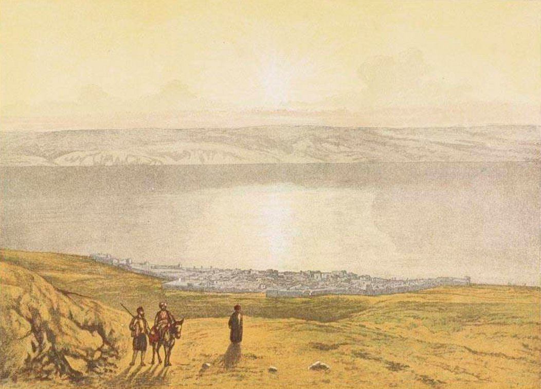 TIBERIAS - Late 19th, early 20th c. 104 (Circa 1870s)