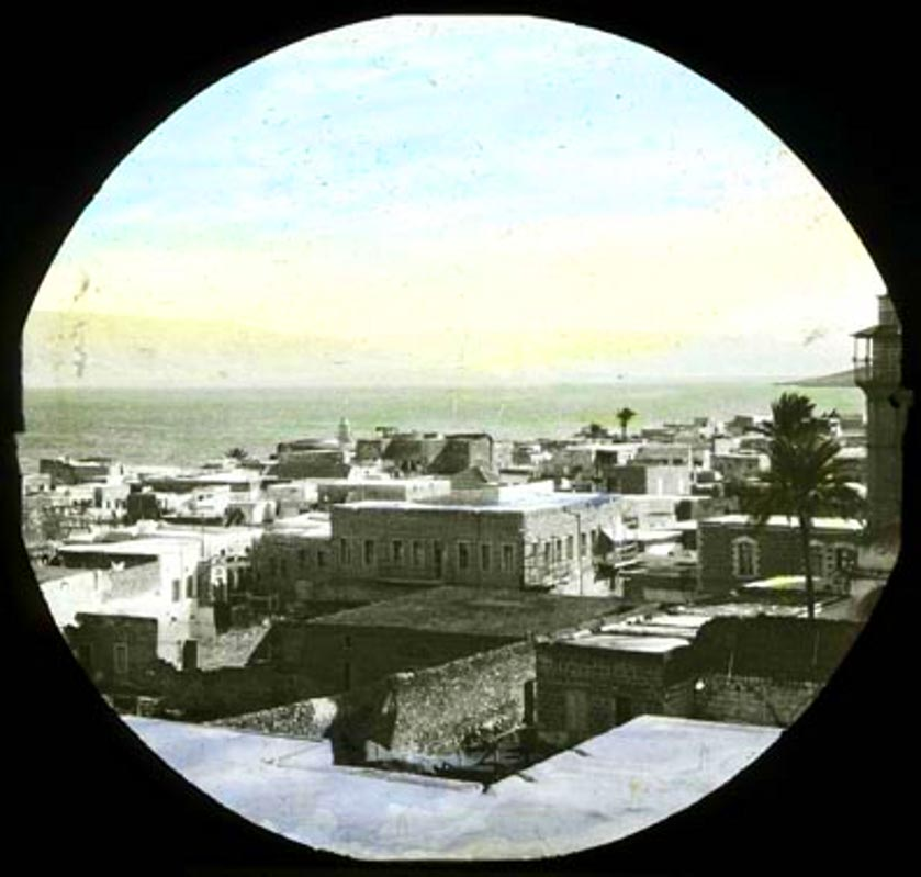 TIBERIAS - Late 19th, early 20th c. 110 - Partial view, looking souh