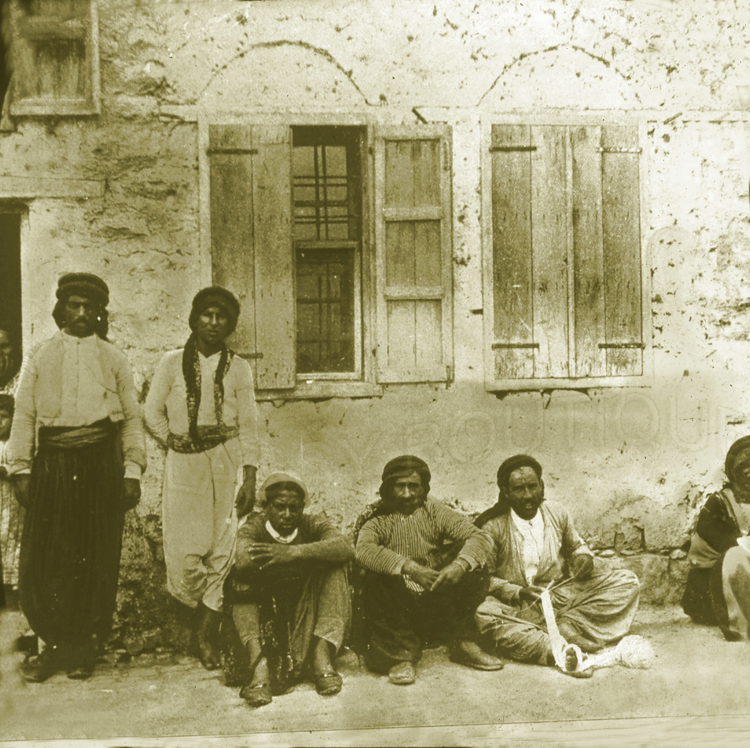 Tiberias - طبريه : TIBERIAS - Late 19th, early 20th c. 119 - Palestinian Arabs of Tiberias. (Per Reem Ackall)