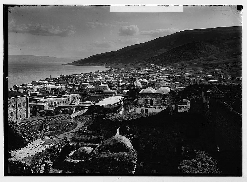 Tiberias and the Sea of Galilee 1898-1946