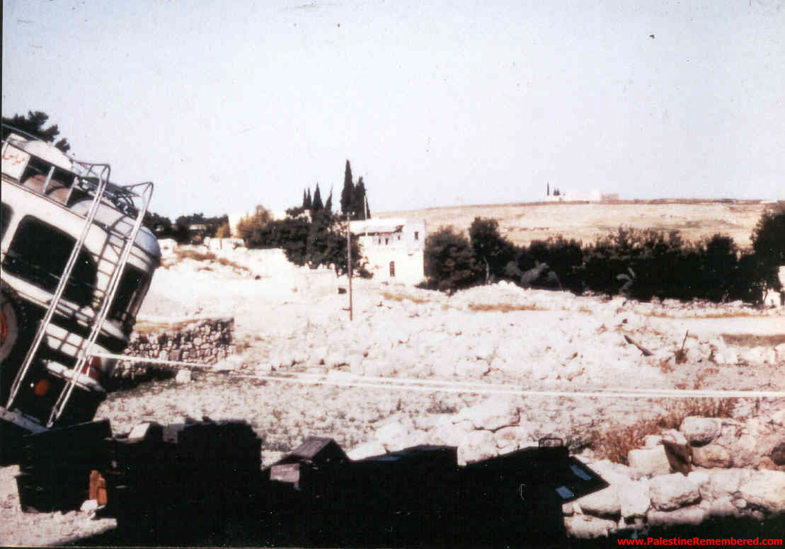 'Imwas Soon After Occupation, 1967