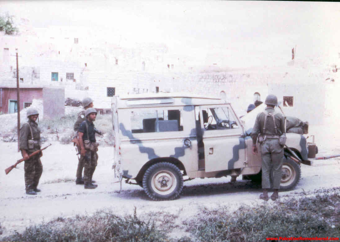 'Imwas - عِمواس : Israeli Soldiers In 'Imwas Soon After Occupation, Picture Taken By Joseph Onan, An Israeli Soldier Living Nearby 'Imwas.  #1