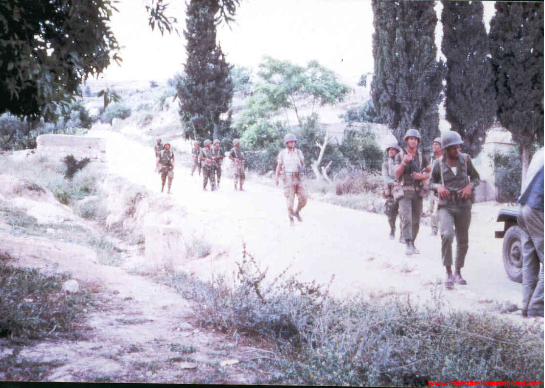 'Imwas - عِمواس : Israeli Soldiers In 'Imwas Soon After Occupation, Picture Taken By Joseph Onan, An Israeli Soldier Living Nearby 'Imwas.  #3