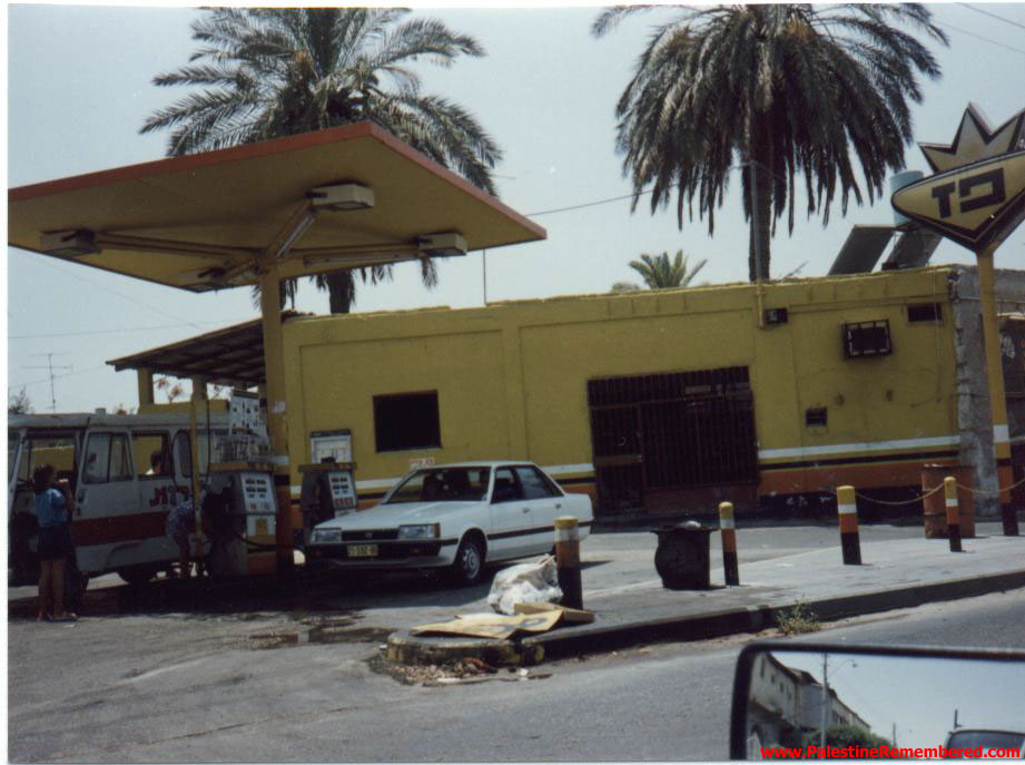 al-Lydd&nbsp;-&nbsp;&#1575;&#1604;&#1604;&#1583;&nbsp;: AL-Lydd gas station that used to be owned by <b>AL-Tartir</B> family