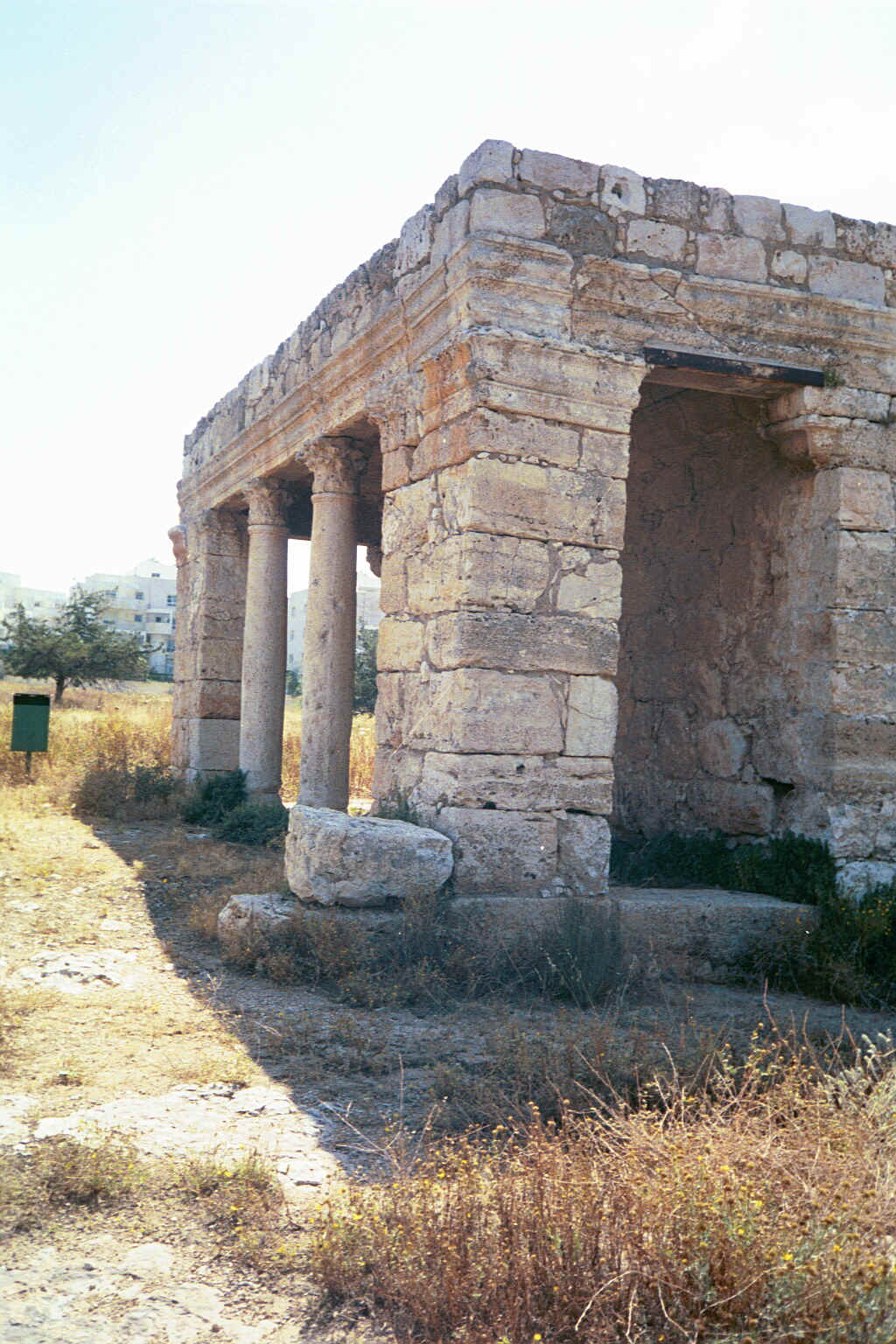 al-Muzayri'a - المُزيرعة : The Roman mausoleum #1, May 2002
