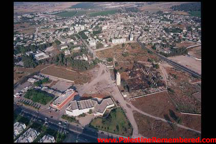 al-Ramla - الرمله : General view of Ramla. The White Mosque's Minaret is in the center (1992)